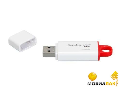 Флешка USB Kingston DTIG4 32GB USB 3.0 Red (DTIG4/32GB)
