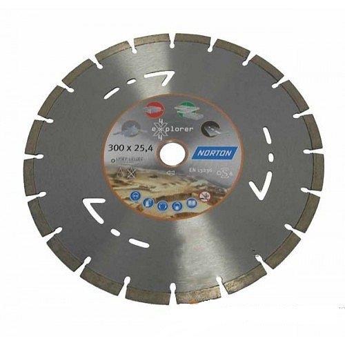 Алмазный диск Norton Clipper 300х25,4 мм (70184623233)