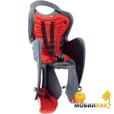 Сиденье задн. детское Bellelli MR FOX Clamp до 22 кг (серый с оранжевым) (SAD-25-A2)