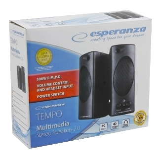 Акустика Esperanza Speakers EP109 Black