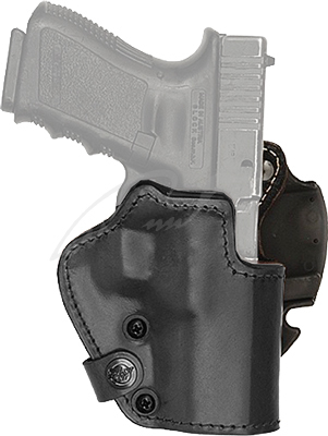Кобура Front Line для револьвера 2 Кожа Черная (2370.22.52)