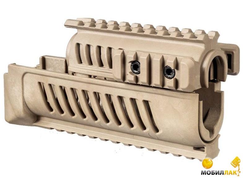 Цевье FAB Defence полимерное для АК47/74 tan