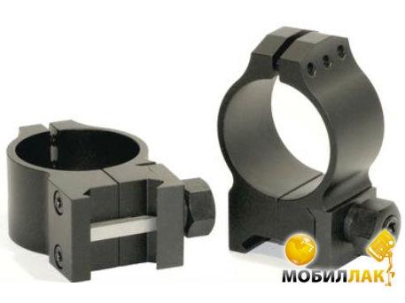 Крепление Warne Tactical Fixed Ring 30мм, среднее стальное (614M)