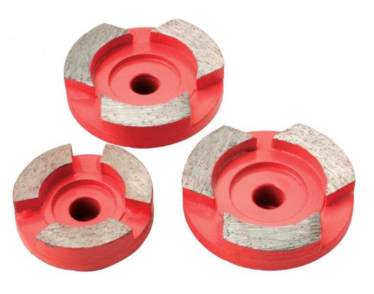 Чашки шлифовальные Protool DIA Abrasiv D44/35 3 шт (616505)