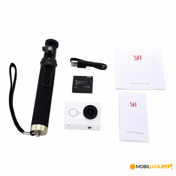 Экшн-камера Xiaomi Yi Sport Basic Edition White (ZRM4020RT)
