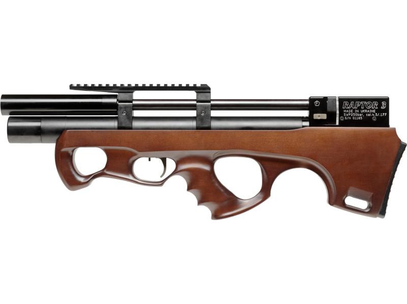 Винтовка пневматическая Raptor 3 Standard 4.5 мм Коричневая (3993.00.17)