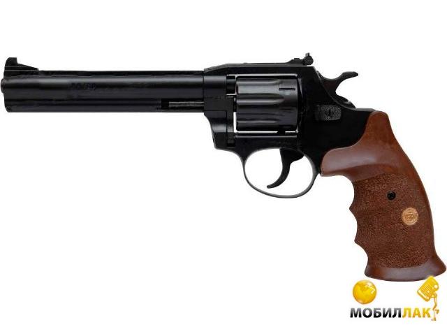 Револьвер флобера Alfa mod. 461 4mm ворон/дерево (144922/9)