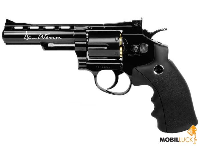 Пневматический пистолет ASG Dan Wesson 4 Black (17176)