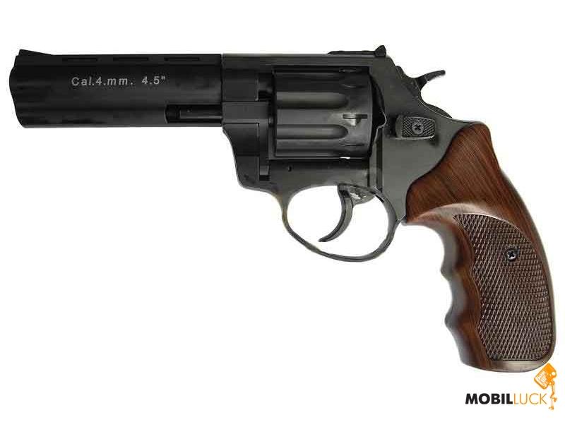 Револьвер под патрон Флобера Meydan Stalker 4 мм 4,5 Wood