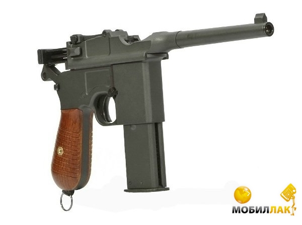 Пистолет SAS Mauser M.712 4,5mm Blowback! (KMB18DHN)