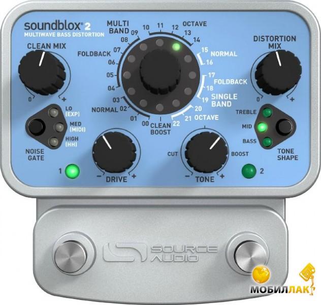 Гитарный процессор Source Audio SA221 Soundblox 2 Multiwave Bass Distortion