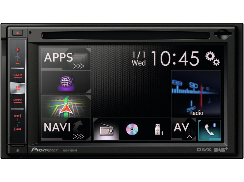 Автомагнитола Pioneer AVIC-F970BT Navigation-TV