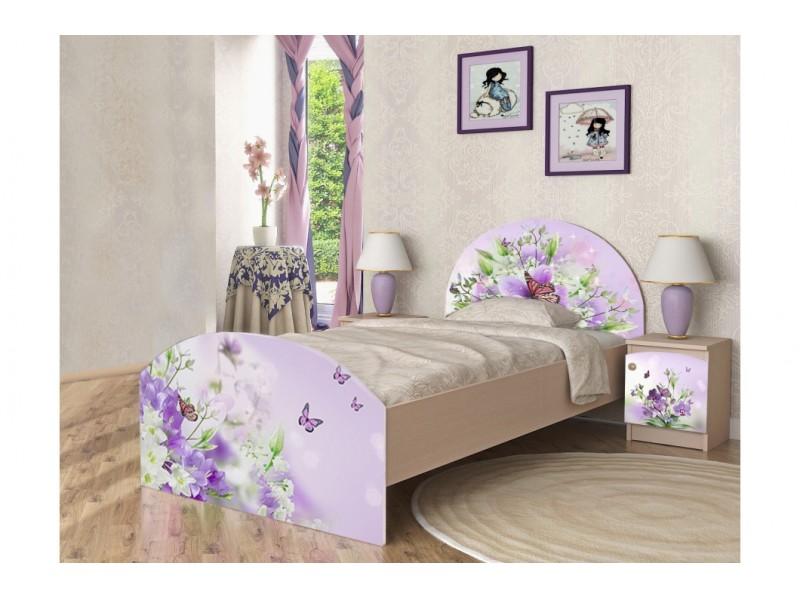 Детская кровать Вальтер-С Природа Без ящиков 90х190 (KBPR)