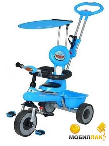 Детский трехколесный велосипед Bambi M 5366-1 Голубой