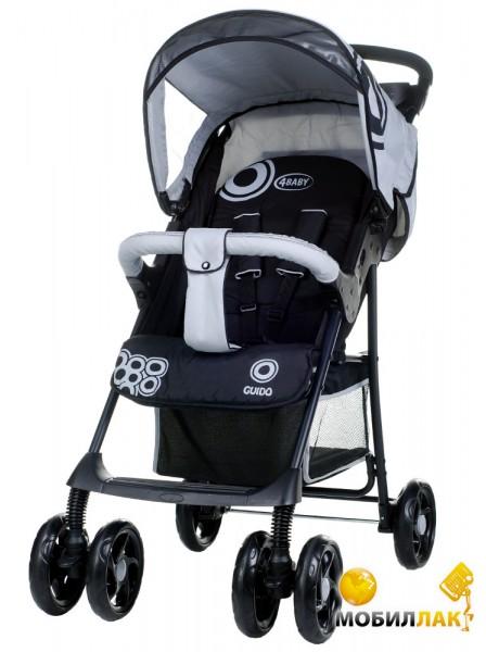 Детская коляска 4 baby Guido Grey