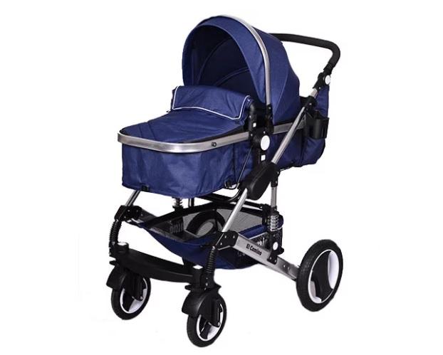 Универсальная коляска El Camino Grande ME 1006-4 Blue