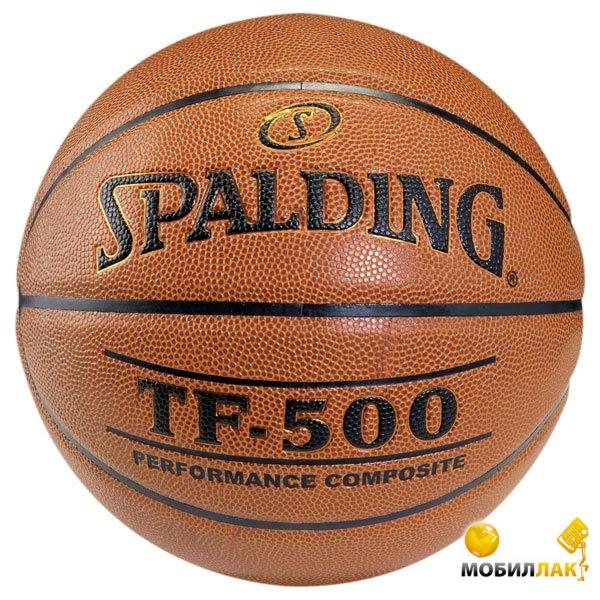 Мяч баскетбольный Spalding TF-500 Composite Leather р.6