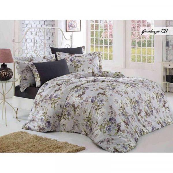 Комплект постельного белья Issihome Gardenya 121 двуспальный Евро (m013147)