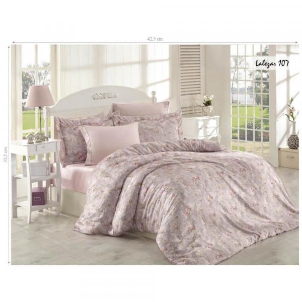 Комплект постельного белья Issihome Lalezar 107 двуспальный Евро (m013133)