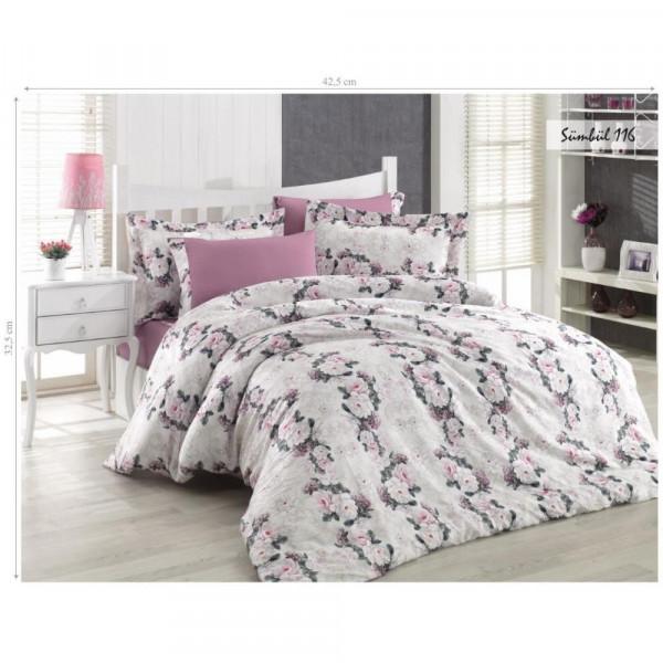 Комплект постельного белья Issihome Sumbul 116 двуспальный Евро (m013142)