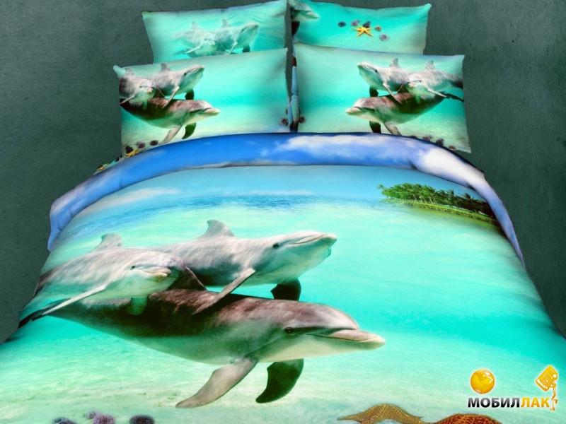 Постельное белье Love You океан 2(160x220) (m009574)