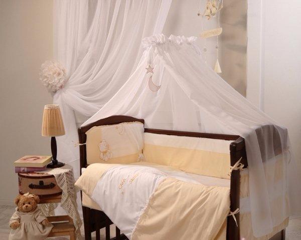 Детское постельное белье Маленькая Соня Darling желтый 7 пр (10504)