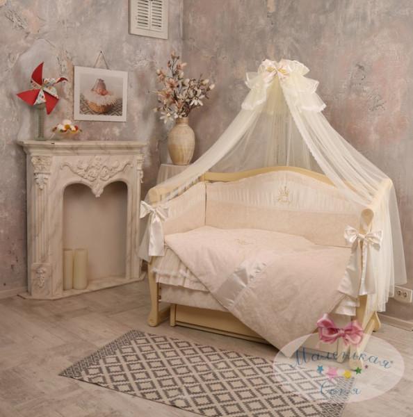 Детское постельное белье Маленькая Соня Baby chic Кофейный (11641)