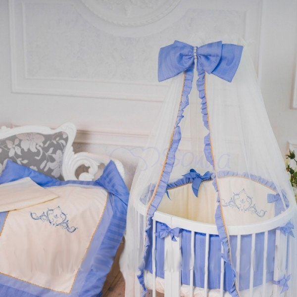 Комплект детского постельного белья Маленькая Соня Mon Amie голубой (22307)