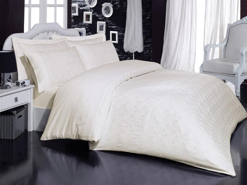 Постельное белье Mariposa De Luxe Tencel Natural Life Cream V3 160x220 (m008071)