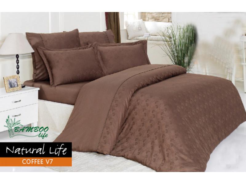 Постельное белье Mariposa Natural Life Coffee V7 160x220(m012535)