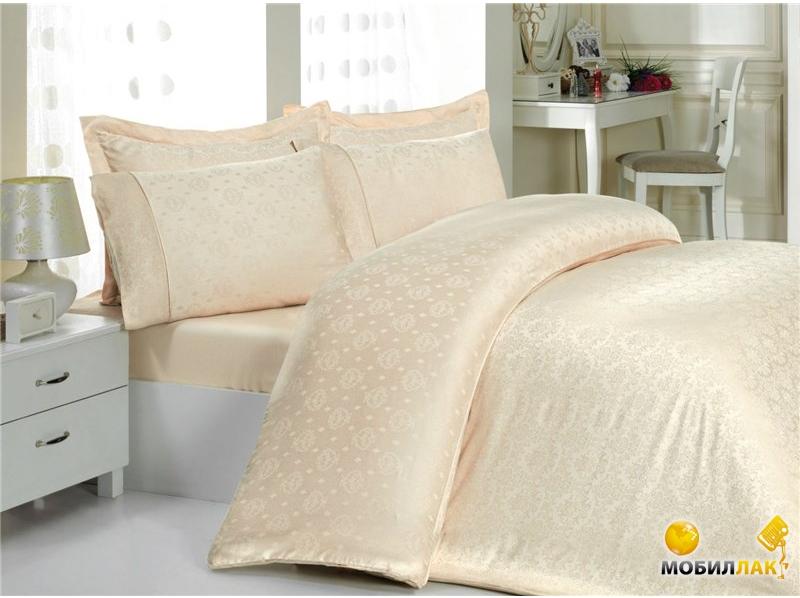 Постельное белье Mariposa de luxe tencel ottaman beige (200x220) (m006016)