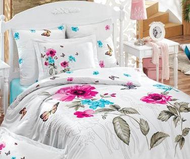 Комплект постельного белья Mariposa Бамбук Сатин 200х220 Papilion v2 (m005097)