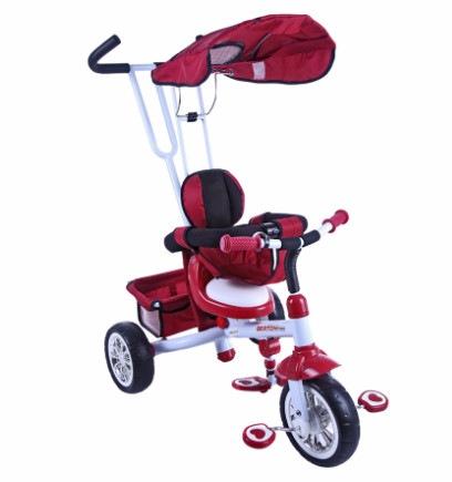 Трехколесный велосипед Bertoni B301B Red/white