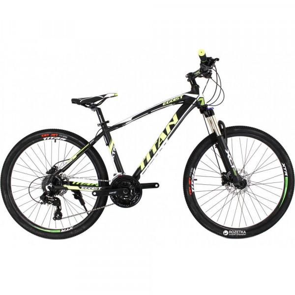 Велосипед Titan Egoist 26 Black-Yellow-White (26TWA17-59-1)