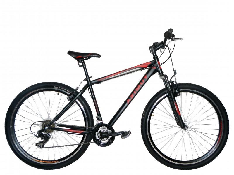 Велосипед горный Azimut 29 219 Energy GV (19 рама) 2016 Черный/Красные полосы