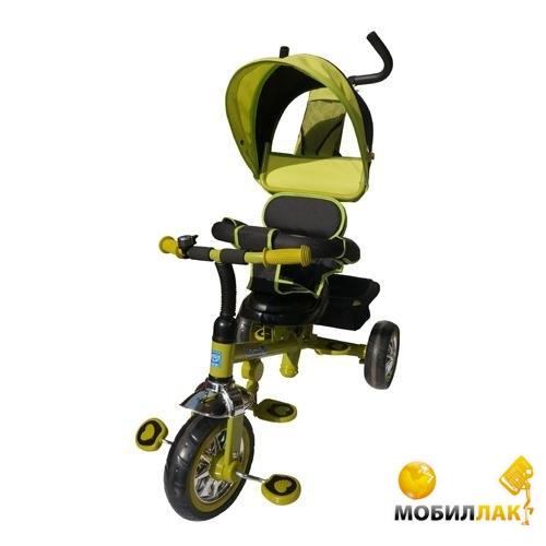 Трехколесный велосипед Bambi B32-TM-1 зеленый
