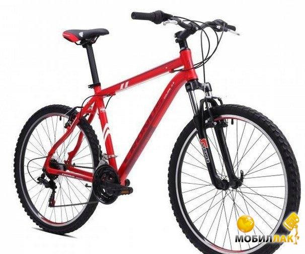 Велосипед Cronus Coupe 0.5 (2016) рама 21 Красный/бордовый/белый матовый