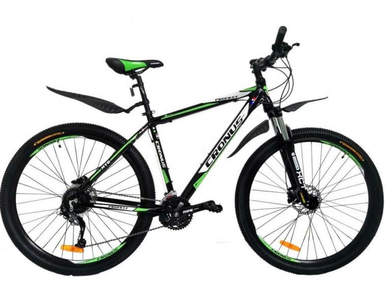 Велосипед Cronus ProFast 29 Black-Green-White (CRN-18-29-6)
