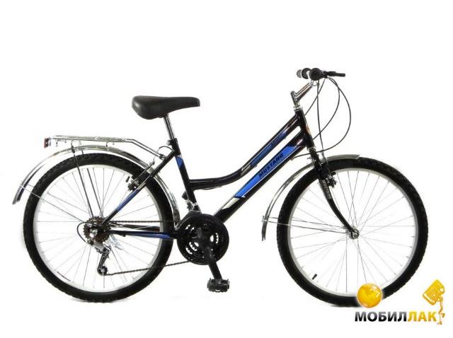 Велосипед Mustang 24 162 Sport Mustang 2015 Черный Синие полосы