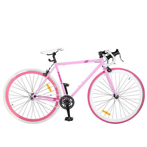 Велосипед Profi 28 FIX26C701-2H Розовый