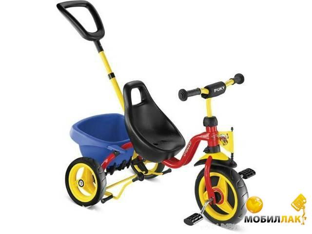 Велосипед трехколесный Puky cat 1l LR000949/2363
