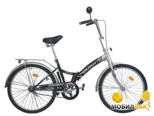 Велосипед Салют 2409 24 серо-черный