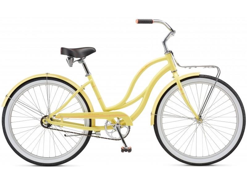 Велосипед Schwinn Slik Chik Women 2017 Yellow (SKD-89-36)