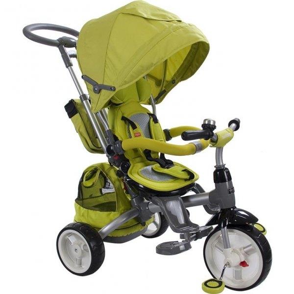 Велосипед детский трехколесный Sun Baby Little Tiger Green