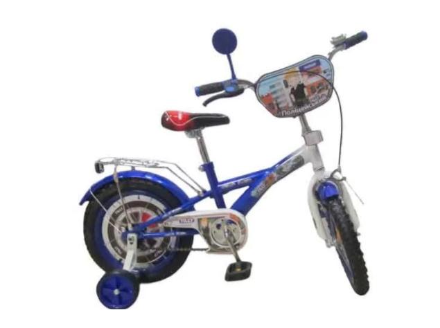 Велосипед Tilly 16 Полицейский T-216211 Blue/White