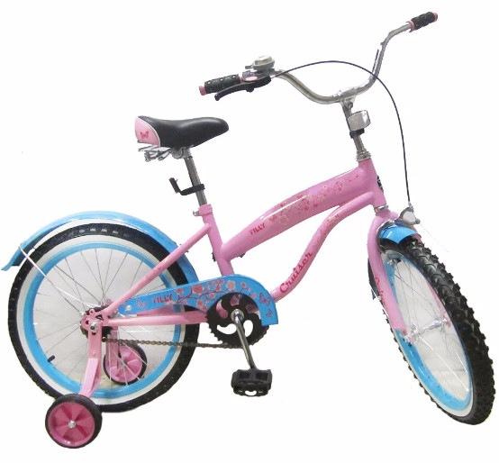 Велосипед Tilly Cruiser 18 T-21831 Pink/Blue