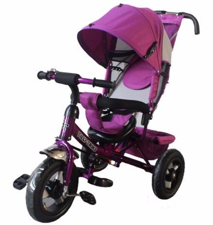 Трехколесный велосипед Tilly Trike T-364 Фиолетовый