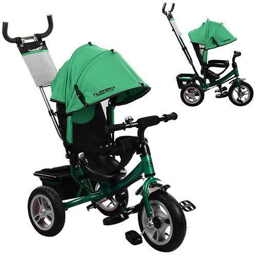 Велосипед детский трехколесный Turbo Trike M 3113A-N4 Зеленый