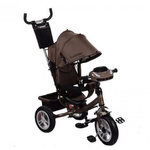 Велосипед детский трехколесный Turbo Trike M 3113HA-13 Коричневый