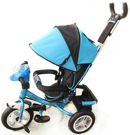 Трехколесный велосипед Turbo Trike M 3115-5HA Синий